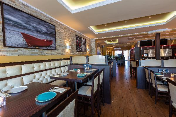 Ingericht restaurant aan Lindeplein foto 4